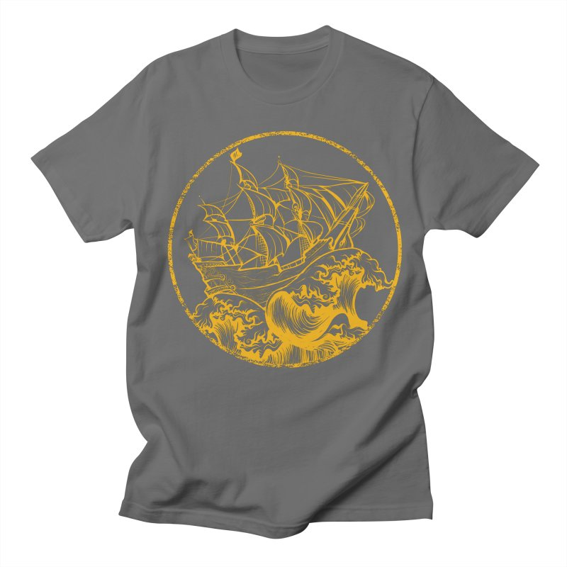 Ship To Wreck Men's T-Shirt by MaddFictional's Artist Shop