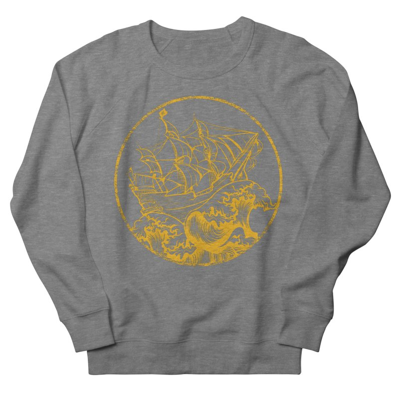 Ship To Wreck Men's Sweatshirt by MaddFictional's Artist Shop