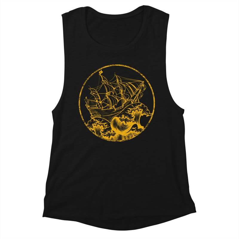 Ship To Wreck Women's Tank by MaddFictional's Artist Shop