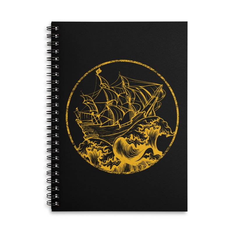Ship To Wreck Accessories Notebook by MaddFictional's Artist Shop