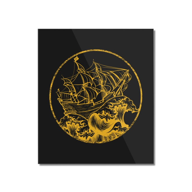 Ship To Wreck Home Mounted Acrylic Print by MaddFictional's Artist Shop