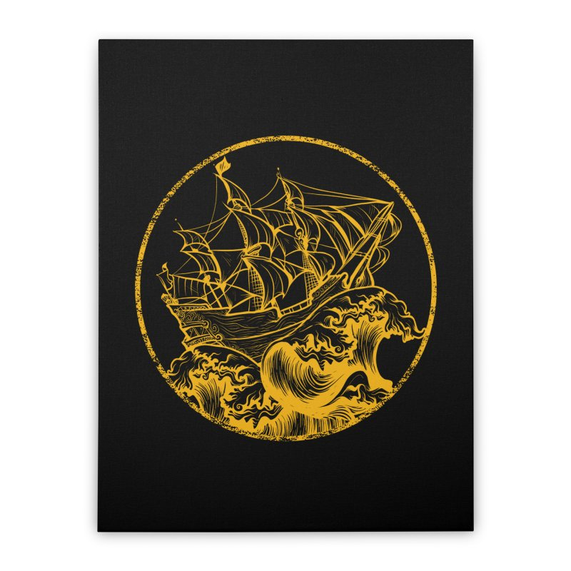 Ship To Wreck Home Stretched Canvas by MaddFictional's Artist Shop