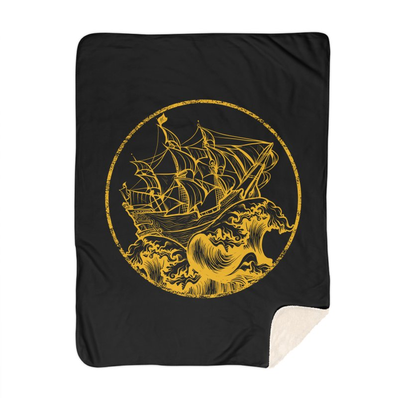 Ship To Wreck Home Blanket by MaddFictional's Artist Shop