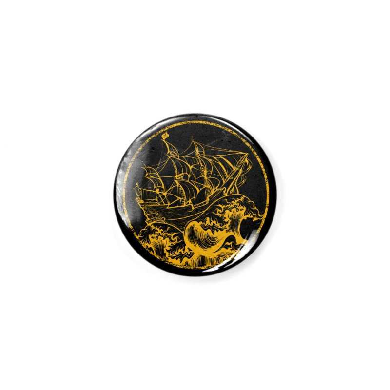 Ship To Wreck Accessories Button by MaddFictional's Artist Shop
