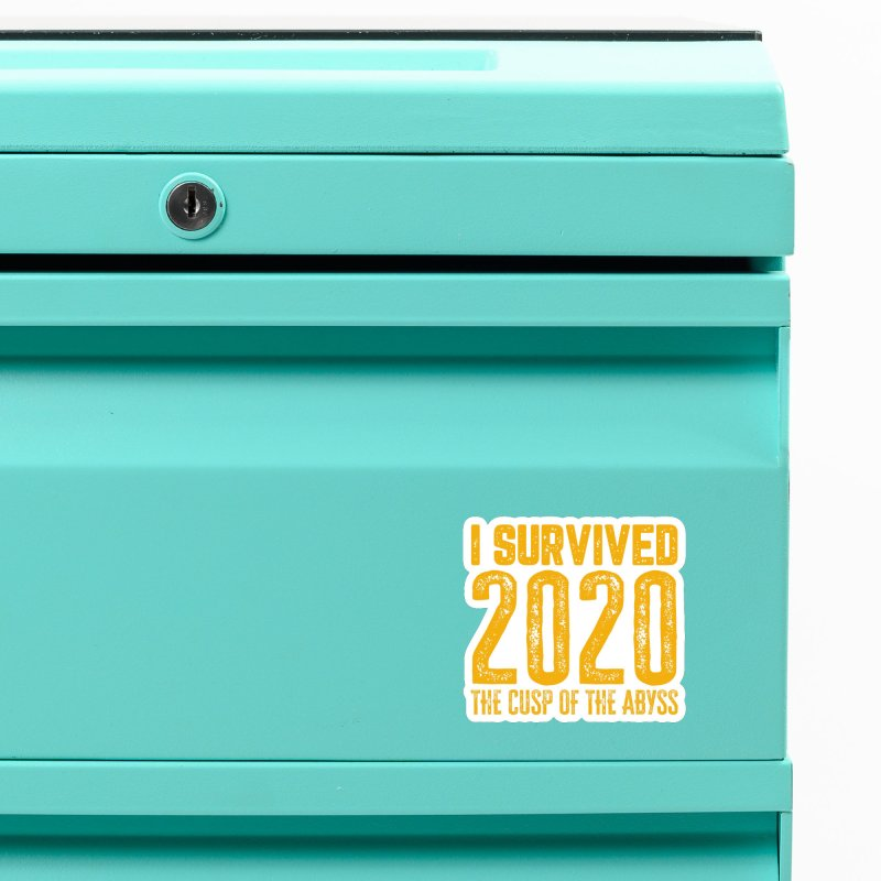 I Survived 2020 Accessories Magnet by MaddFictional's Artist Shop