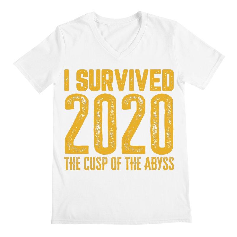I Survived 2020 Men's V-Neck by MaddFictional's Artist Shop