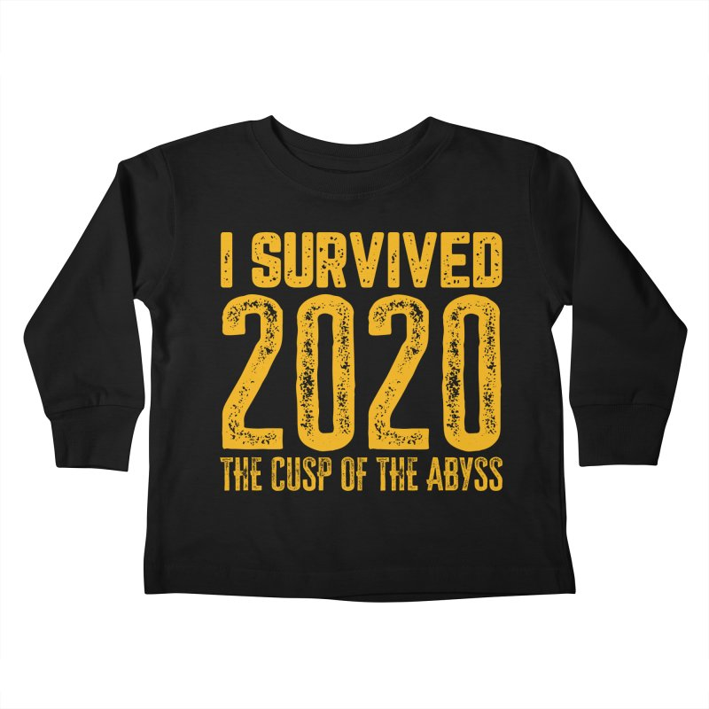 I Survived 2020 Kids Toddler Longsleeve T-Shirt by MaddFictional's Artist Shop