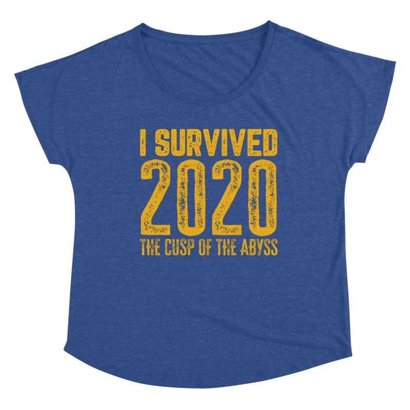 I Survived 2020 Women's Scoop Neck by MaddFictional's Artist Shop