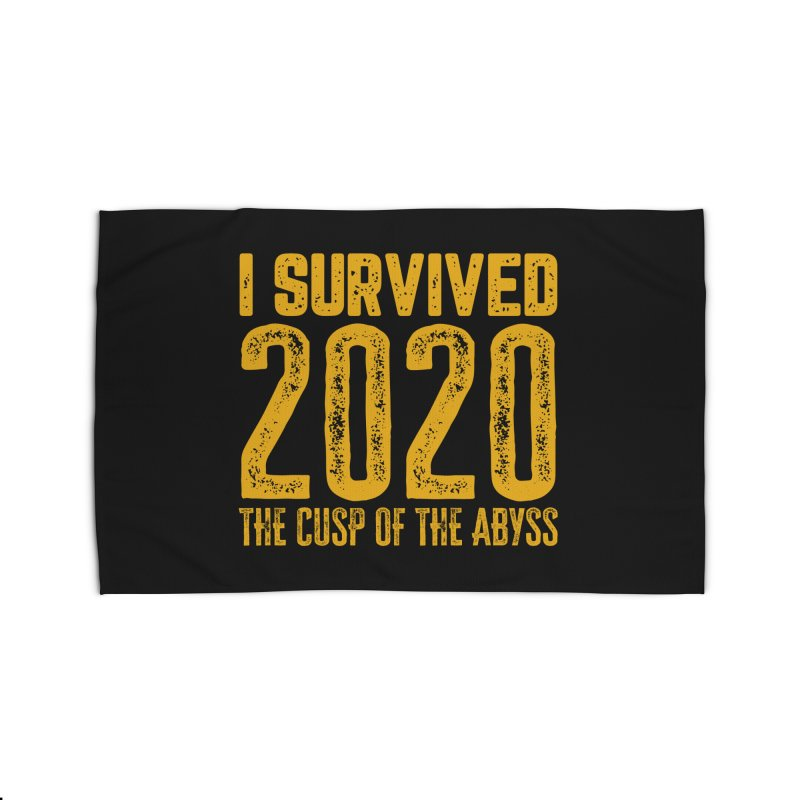 I Survived 2020 Home Rug by MaddFictional's Artist Shop