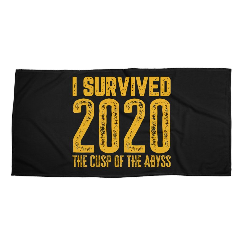 I Survived 2020 Accessories Beach Towel by MaddFictional's Artist Shop