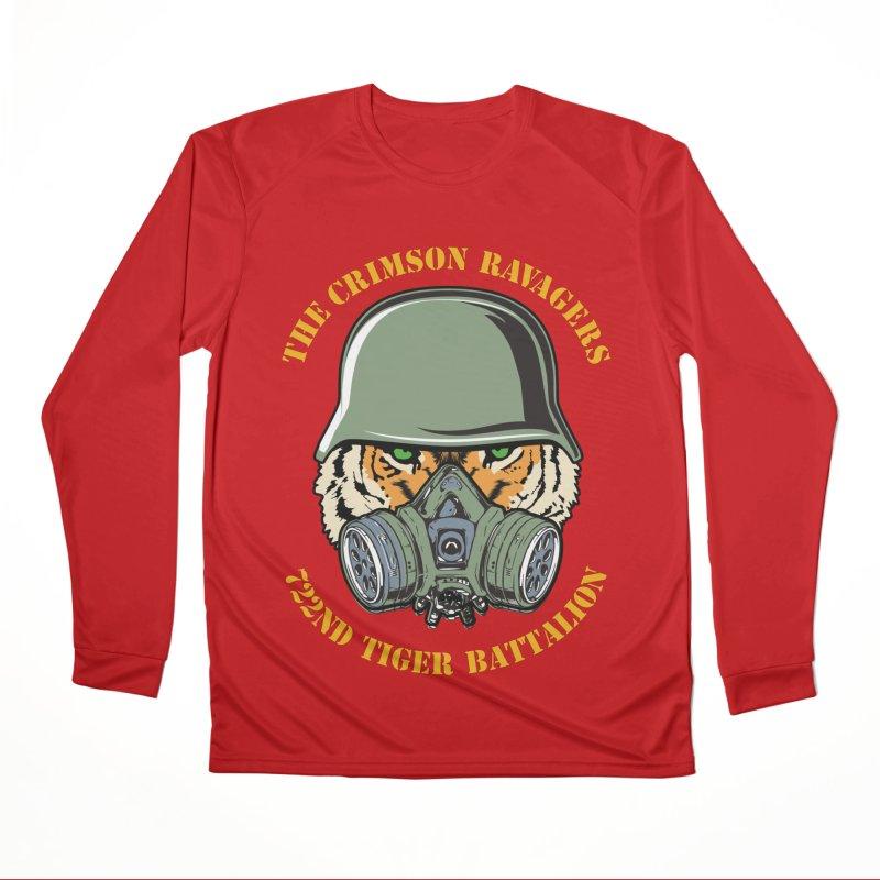 The Crimson Ravagers Women's Longsleeve T-Shirt by MaddFictional's Artist Shop