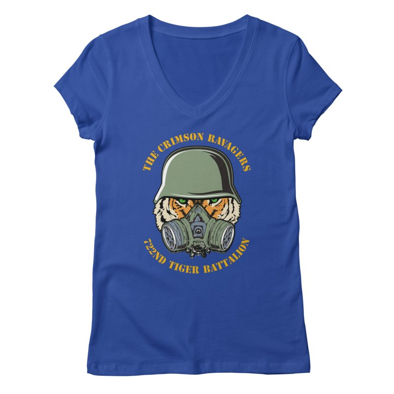 The Crimson Ravagers Women's V-Neck by MaddFictional's Artist Shop