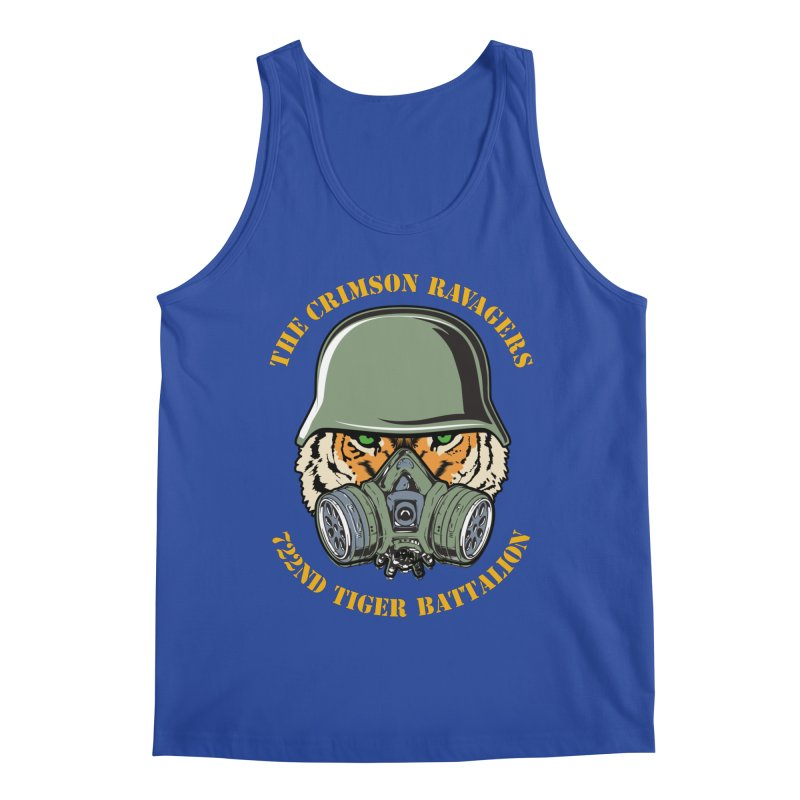 The Crimson Ravagers Men's Tank by MaddFictional's Artist Shop