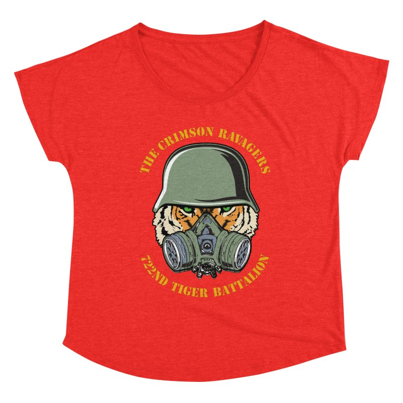 The Crimson Ravagers Women's Scoop Neck by MaddFictional's Artist Shop