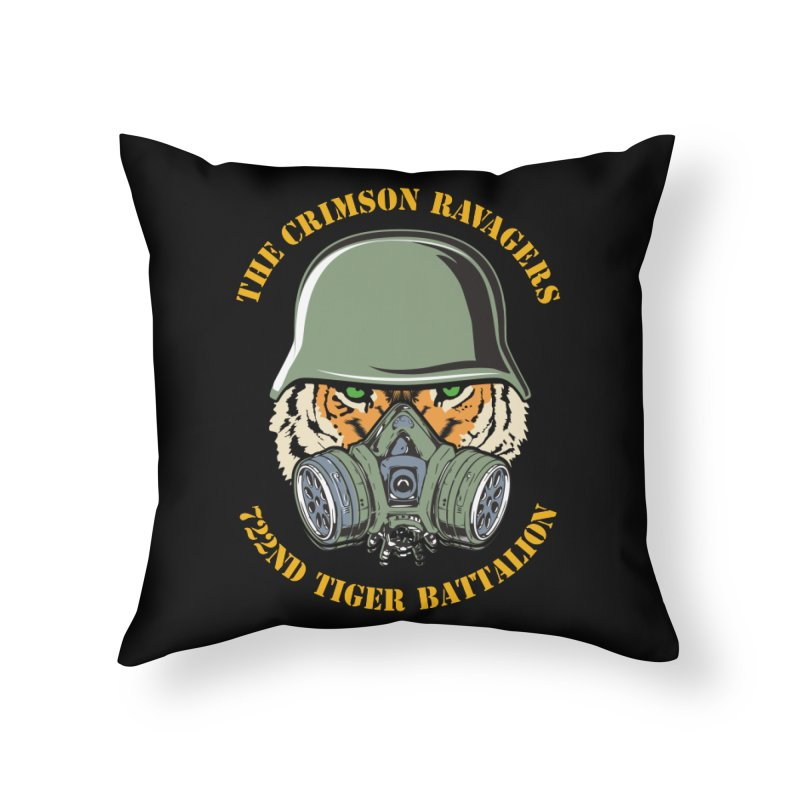 The Crimson Ravagers Home Throw Pillow by MaddFictional's Artist Shop