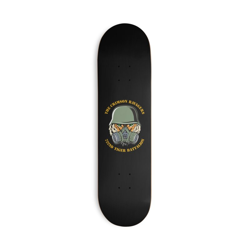 The Crimson Ravagers Accessories Skateboard by MaddFictional's Artist Shop