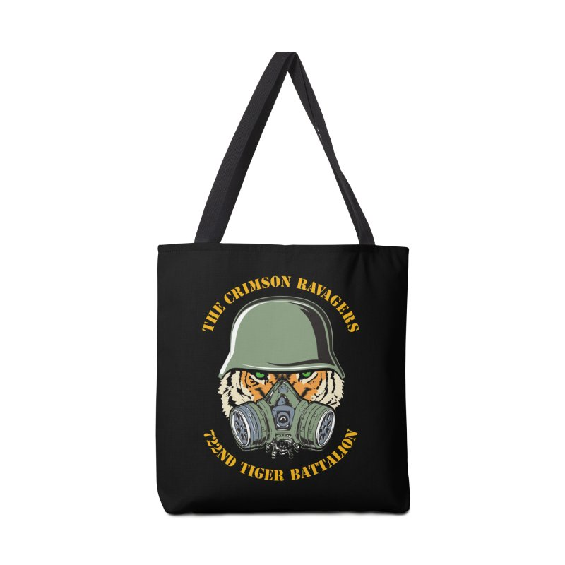 The Crimson Ravagers Accessories Bag by MaddFictional's Artist Shop