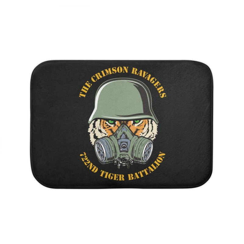 The Crimson Ravagers Home Bath Mat by MaddFictional's Artist Shop