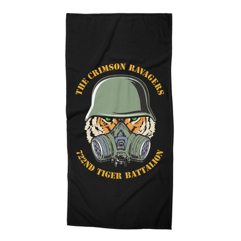 The Crimson Ravagers Accessories Beach Towel by MaddFictional's Artist Shop