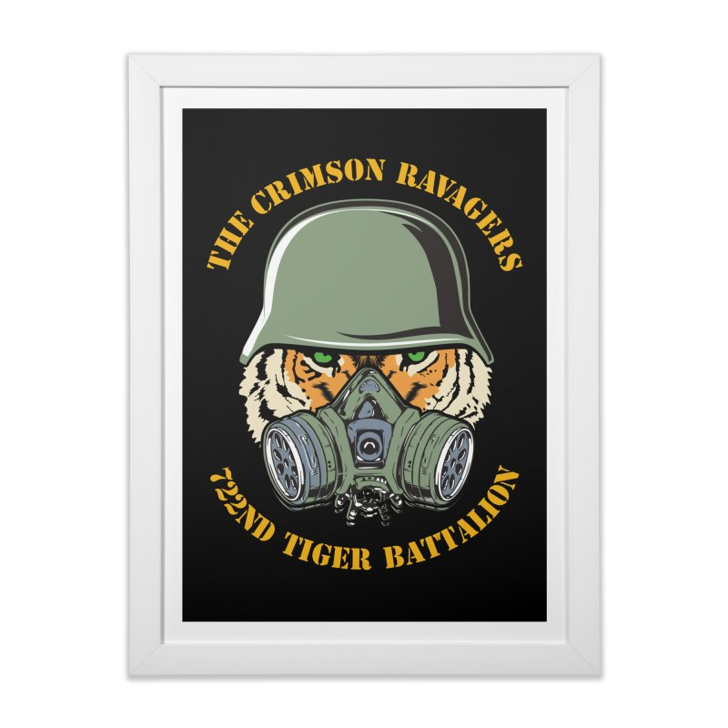 The Crimson Ravagers Home Framed Fine Art Print by MaddFictional's Artist Shop