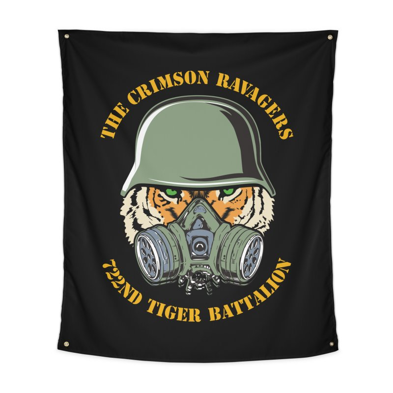 The Crimson Ravagers Home Tapestry by MaddFictional's Artist Shop