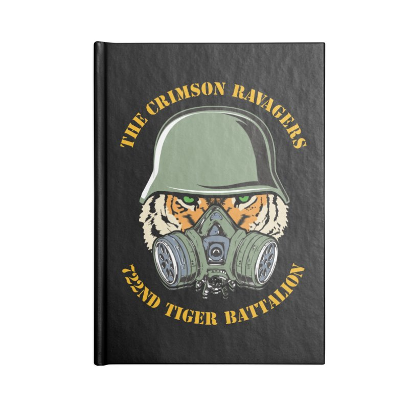 The Crimson Ravagers Accessories Notebook by MaddFictional's Artist Shop