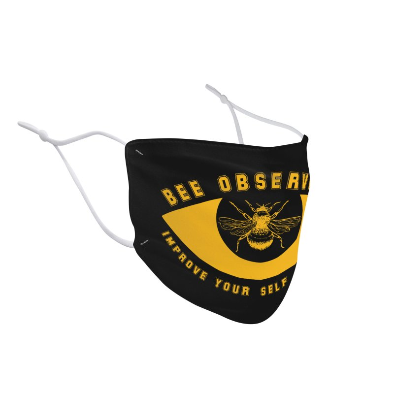 Bee Observant Accessories Face Mask by MaddFictional's Artist Shop