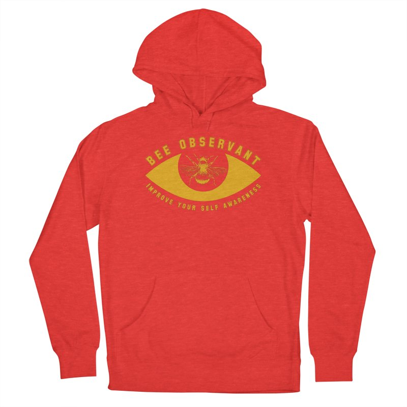 Bee Observant Men's Pullover Hoody by MaddFictional's Artist Shop