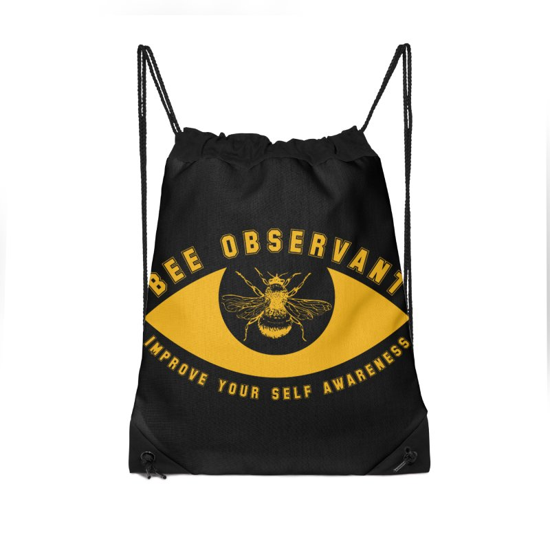 Bee Observant Accessories Bag by MaddFictional's Artist Shop