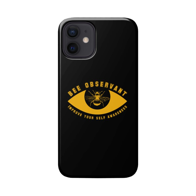 Bee Observant Accessories Phone Case by MaddFictional's Artist Shop