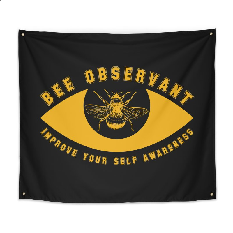 Bee Observant Home Tapestry by MaddFictional's Artist Shop