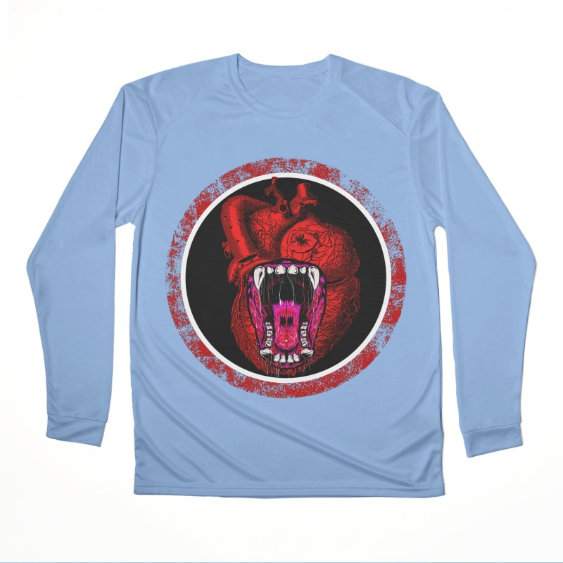 Beast Heart Women's Longsleeve T-Shirt by MaddFictional's Artist Shop