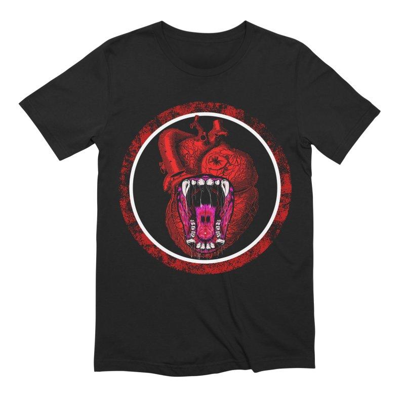 Beast Heart Men's T-Shirt by MaddFictional's Artist Shop