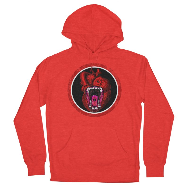 Beast Heart Women's Pullover Hoody by MaddFictional's Artist Shop