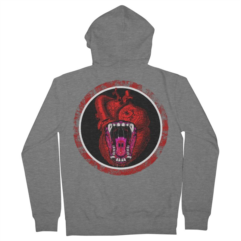 Beast Heart Women's Zip-Up Hoody by MaddFictional's Artist Shop