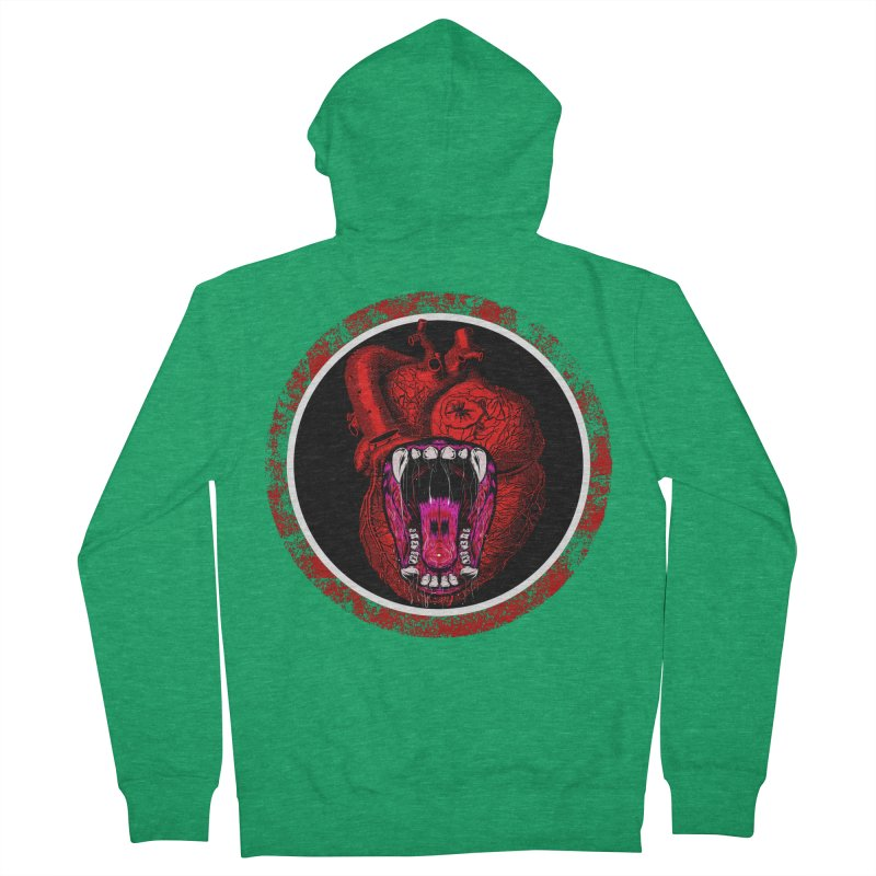 Beast Heart Men's Zip-Up Hoody by MaddFictional's Artist Shop