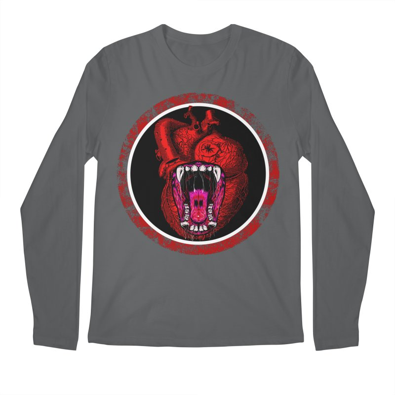 Beast Heart Men's Longsleeve T-Shirt by MaddFictional's Artist Shop