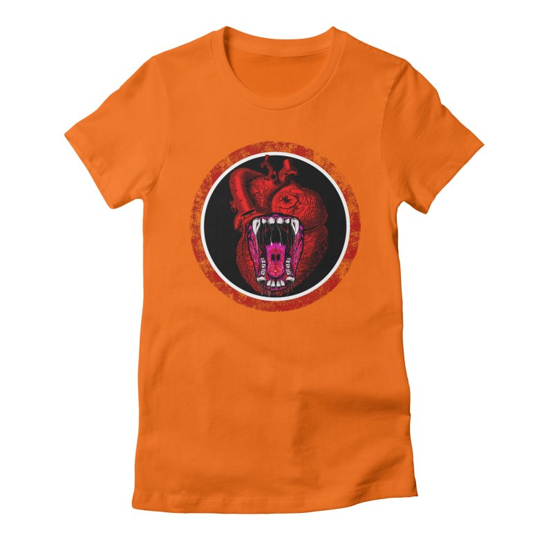 Beast Heart Women's T-Shirt by MaddFictional's Artist Shop