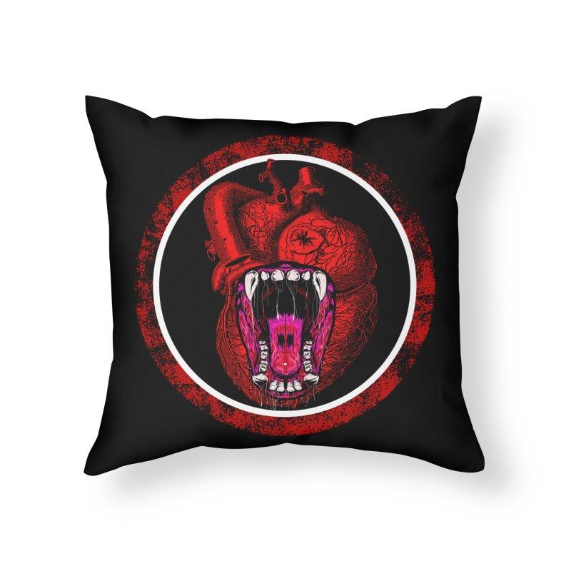 Beast Heart Home Throw Pillow by MaddFictional's Artist Shop