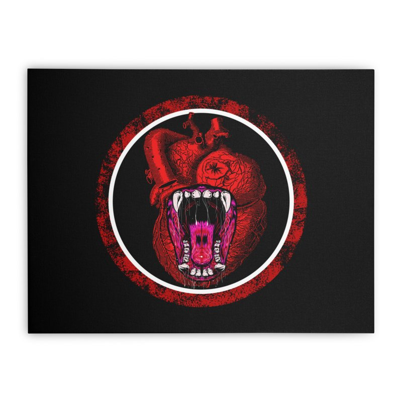 Beast Heart Home Stretched Canvas by MaddFictional's Artist Shop