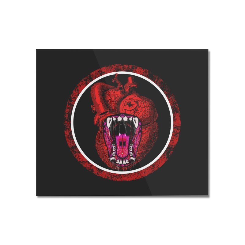 Beast Heart Home Mounted Acrylic Print by MaddFictional's Artist Shop