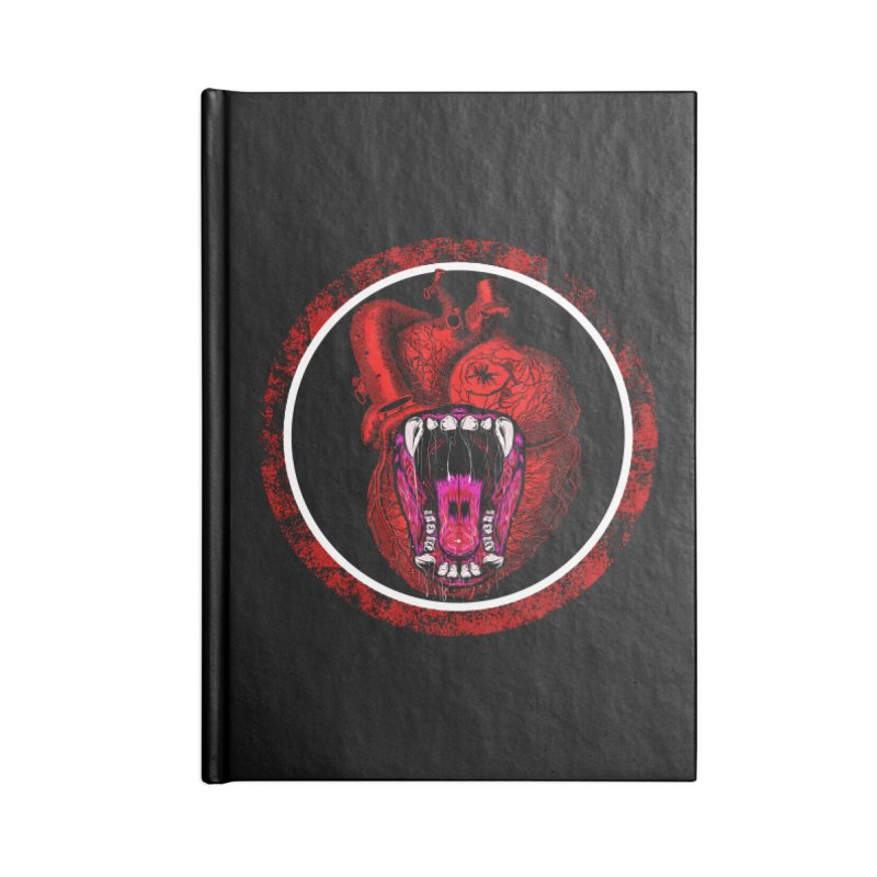 Beast Heart Accessories Notebook by MaddFictional's Artist Shop