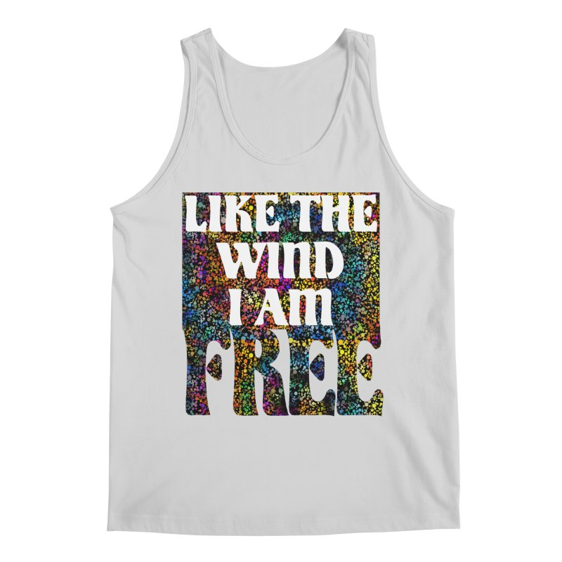 Like The Wind I Am Free Men's Tank by MaddFictional's Artist Shop