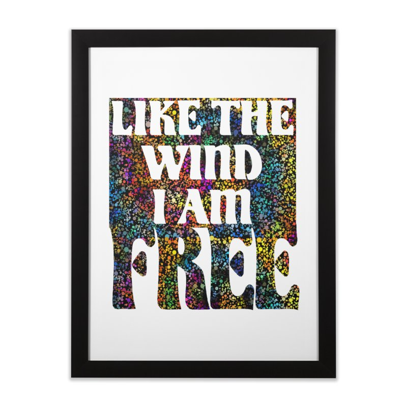 Like The Wind I Am Free Home Framed Fine Art Print by MaddFictional's Artist Shop
