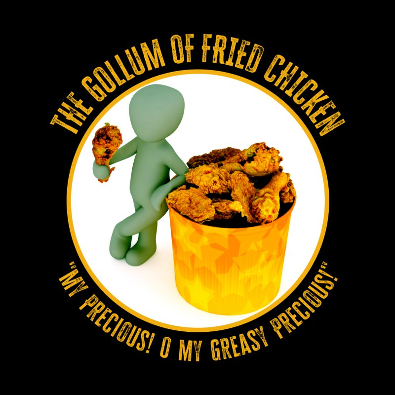 The Gollum of Fried Chicken Accessories Face Mask by MaddFictional's Artist Shop