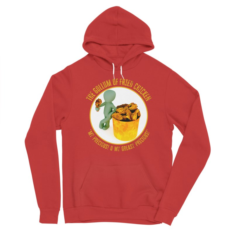 The Gollum of Fried Chicken Women's Pullover Hoody by MaddFictional's Artist Shop