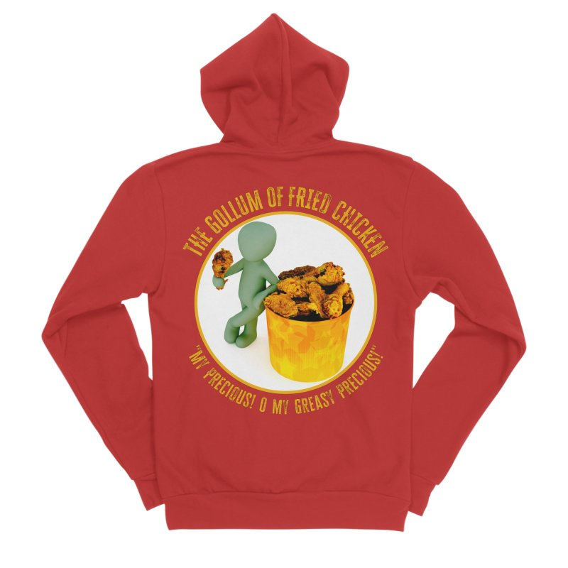 The Gollum of Fried Chicken Men's Zip-Up Hoody by MaddFictional's Artist Shop