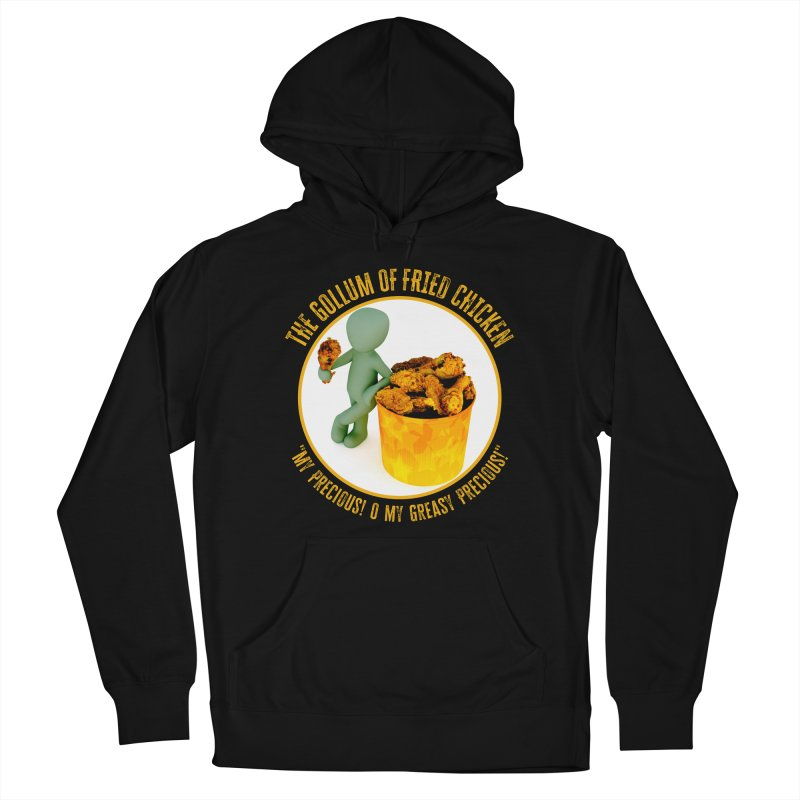 The Gollum of Fried Chicken Men's Pullover Hoody by MaddFictional's Artist Shop
