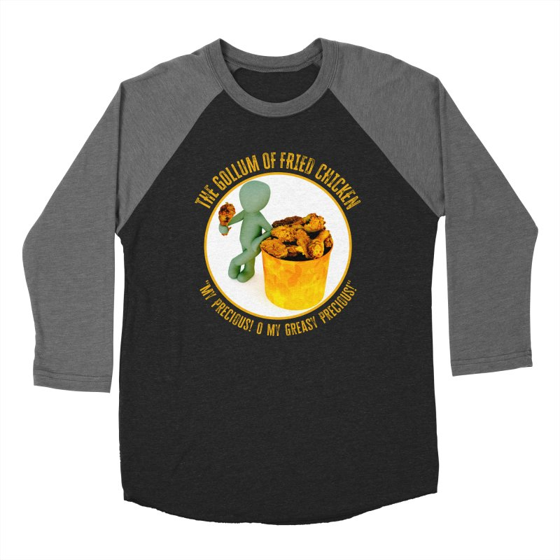 The Gollum of Fried Chicken Men's Longsleeve T-Shirt by MaddFictional's Artist Shop