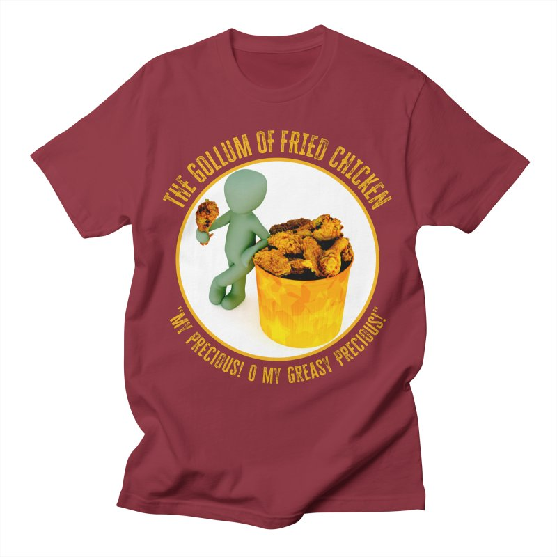 The Gollum of Fried Chicken Men's T-Shirt by MaddFictional's Artist Shop